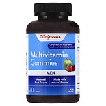 Walgreens Multivitamin Mens Gummies Fruit
