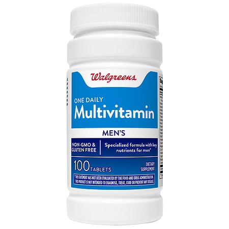 Walgreens One Daily Multivitamin Mens Tablets