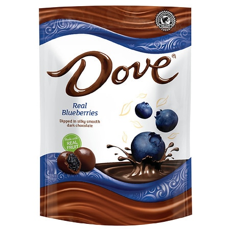 Dove Dark Chocolate With Real Blueberries - 6 oz.