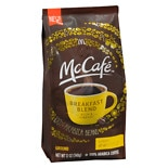 McCafe Ground Coffee Bag Breakfast Blend