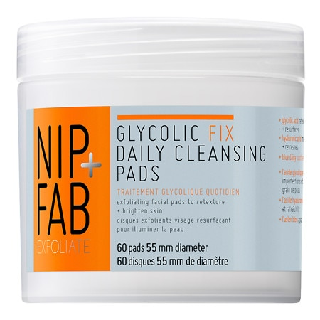 Nip+Fab Glycolic Fix Daily Cleansing Pads - 2.7 oz.