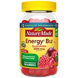 Nature Made Energy B12 1000mcg Adult Gummies Cherry & Wild Berries