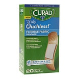 Curad Truly Ouchless Flexible Fabric Bandage .75 x 3 inch (1.9 x 7.6 cm)