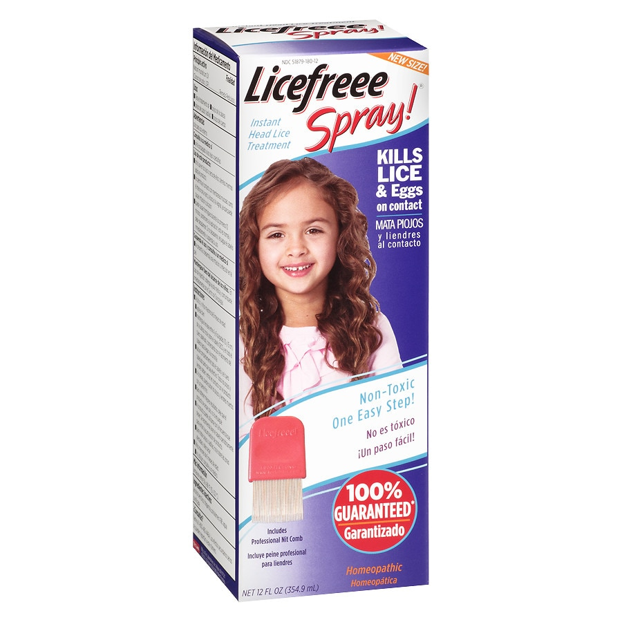 Licefreee Instant Head Lice Treatment Spray Walgreens