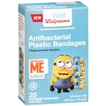 Walgreens Despicable Me Bandages 3/ 4 in x 3 in