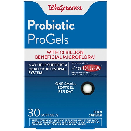 Walgreens Probiotic Progels - 30 ea