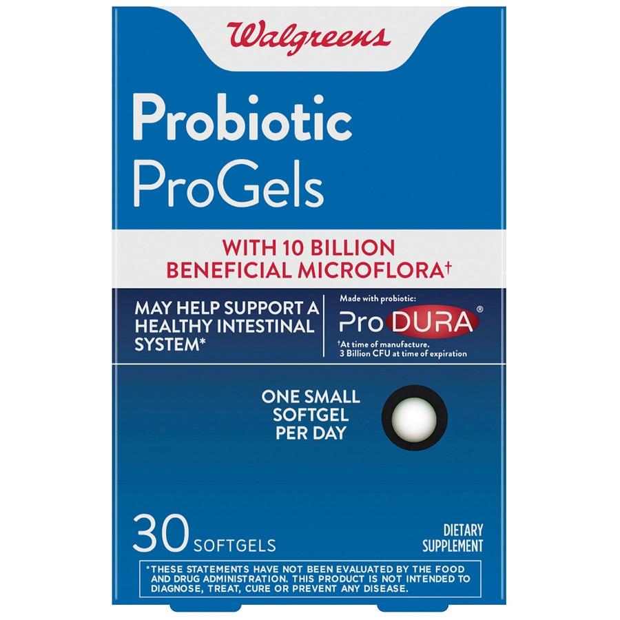 Walgreens Probiotic Progels