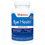 Walgreens Eye Health for Adults 50+, Softgels
