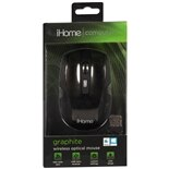 iHome Wireless Desktop Mouse IH-M361B Black