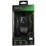 iHome Wireless Optical Mouse Comfort IH-391C Black