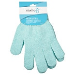 Studio 35 Mesh Bath & Shower Gloves Assorted