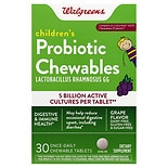 Walgreens Children's Probiotic Chewable Tablets Grape