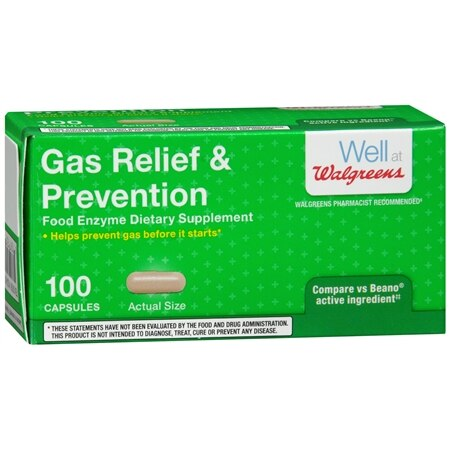 Walgreens Gas Relief Prevention