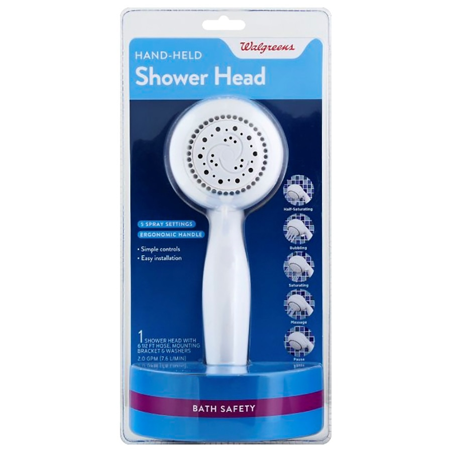 Walgreens Hand Held Shower Head | Walgreens