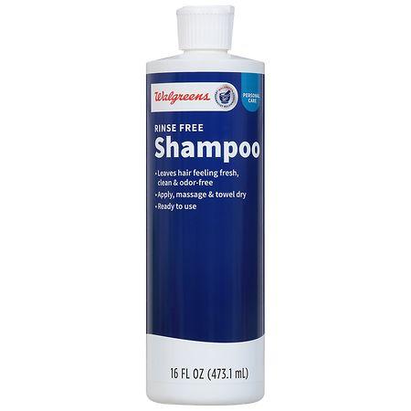 Walgreens Rinse Free Shampoo - 16 oz.