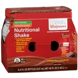 Walgreens Nutritional Shakes Reduced Sugar High Protein Milk Chocolate