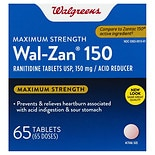 Walgreens Wal-Zan 150 Maximum Strength Acid Reducer Tablets