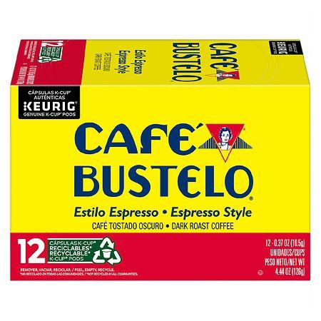 Cafe Bustelo K-Cups Espresso Original - 1 oz. x 12 pack