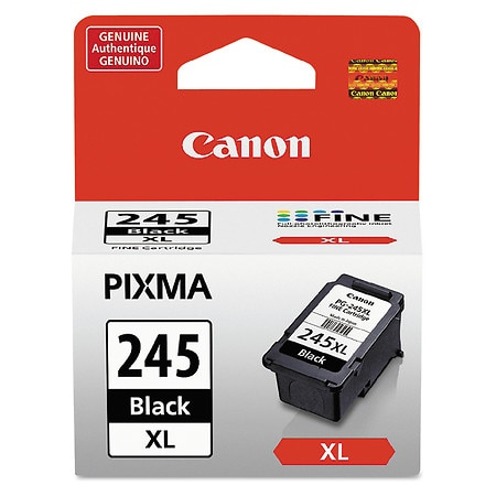 Canon 245XL Black Ink Cartridge Clam Shell Package - 1 ea