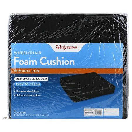 Walgreens Basic Foam Wheelchair Cushion - 1 ea