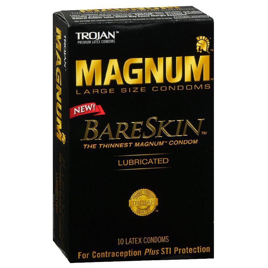 Trojan magnums for oral sex