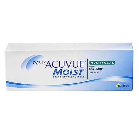 1-Day Acuvue Moist Multifocal 30 pack - 1 Box