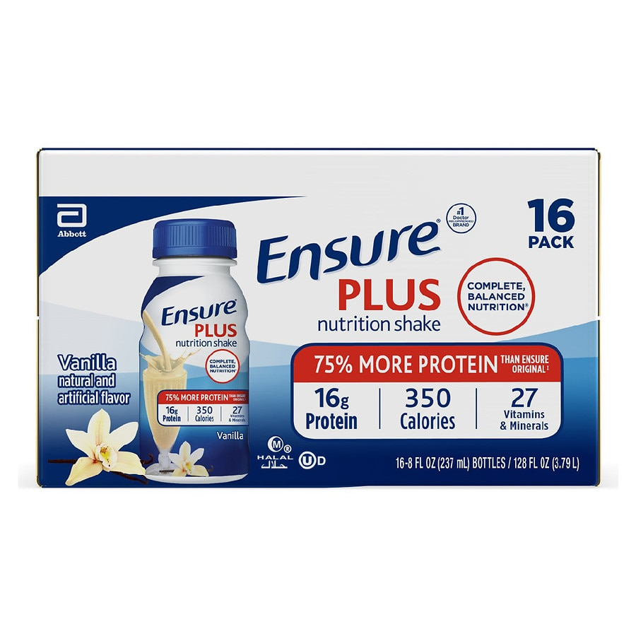 Ensure Plus Nutrition Shake Vanilla | Walgreens