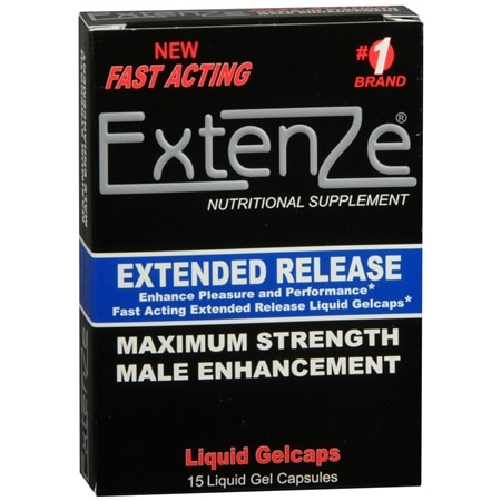 Extenze Sold At GNC