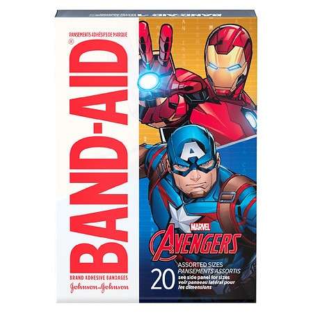 Band-Aid Adhesive Bandages - 20 ea