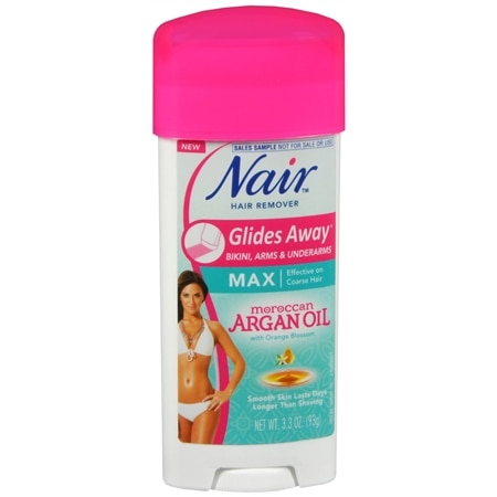 Nair Argan Oil Glides Away Hair Remover 3.3 Oz.