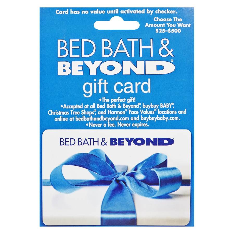 Bed, Bath & Beyond Non-Denominational Gift Card | Walgreens
