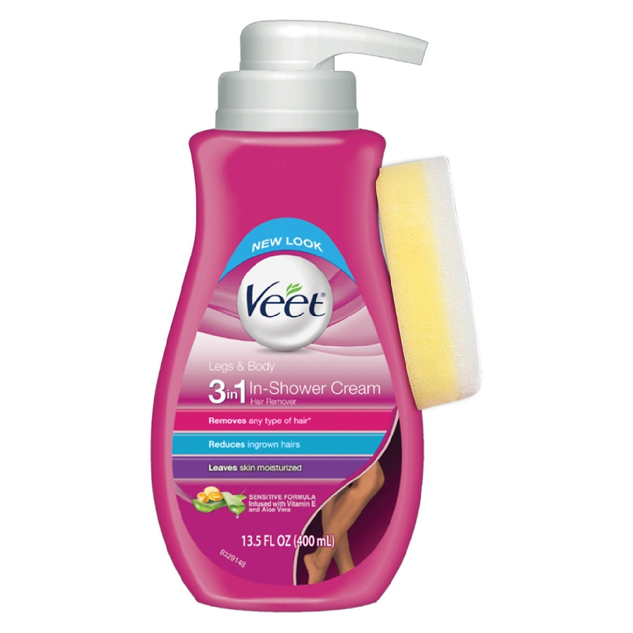 Veet Botanic Inspirations In Shower Cream Hair Remover Walgreens