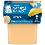 Gerber 2F Puree Tub Bananas