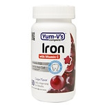 Yum-V's Complete Iron with Vitamin C Adult Jellies Grape