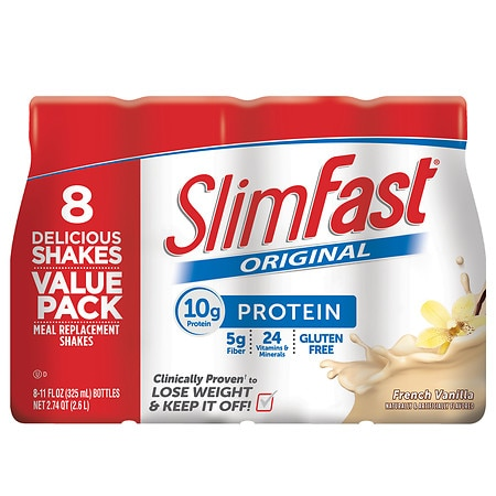 SlimFast Ready to Drink French Vanilla - 11 oz. x 8 pack