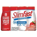 SlimFast Ready to Drink Meal Replacement Shake Strawberries & Cream