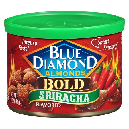 Blue Diamond Almonds Bold Sriracha - 6 oz.
