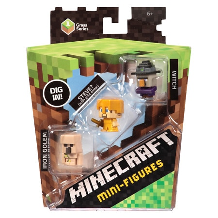 Minecraft Minis Assortment - 3 ea