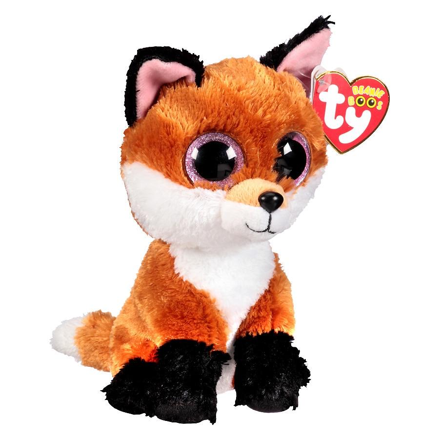 d0628b58369 Ty Beanie Boos Plush Slick Fox1.0 ea