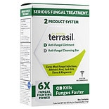 Terrasil Anti-Fungal Ointment Plus Medicated Cleansing Bar