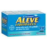 Aleve Pain Reliever/ Fever Reducer Liquid Gels