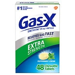 Gas-X Extra Strength Gas Relief Chewable Tablets Peppermint Creme