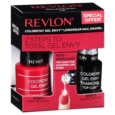 Revlon Gel Envy Nail Kit - 0.4 oz. x 2 pack