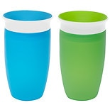 Munchkin Miracle 360 Degree 10oz Sippy Cup Green and Blue