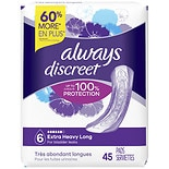 Always Discreet Incontinence Pads, Ultimate Long Length