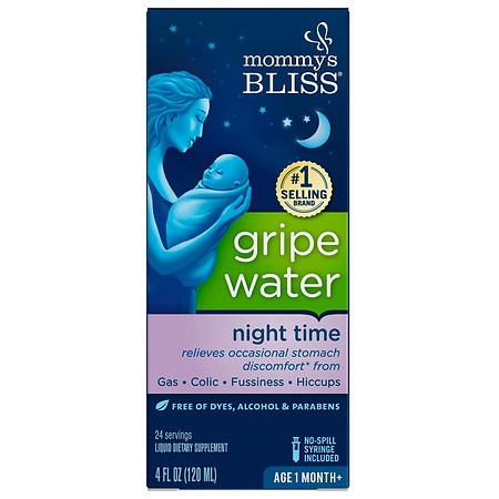 Mommy's Bliss Gripe Water Dietary Supplement Liquid - 4 oz.