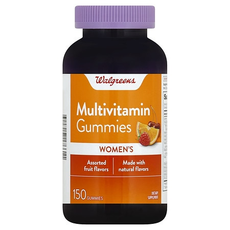 Walgreens Women's Multivitamin Gummies Fruit - 150 ea