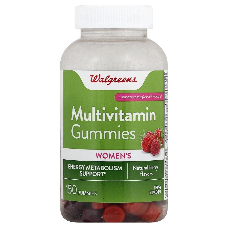 Walgreens Women's Multivitamin Gummies Berry | Walgreens
