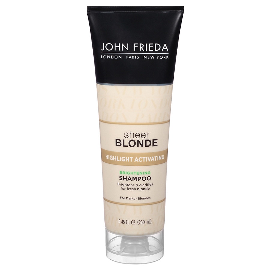john frieda sheer blonde highlight activating darker shampoo darker blondes walgreens. Black Bedroom Furniture Sets. Home Design Ideas