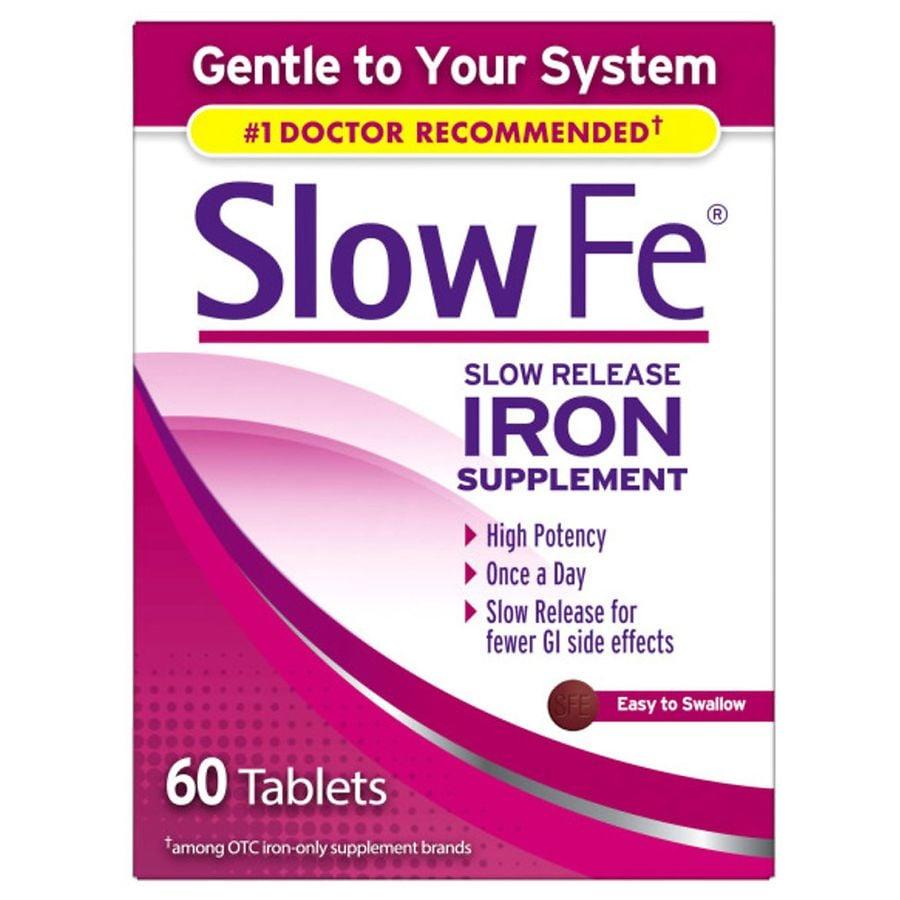 Slow Fe Slow Release Iron Tablets Walgreens